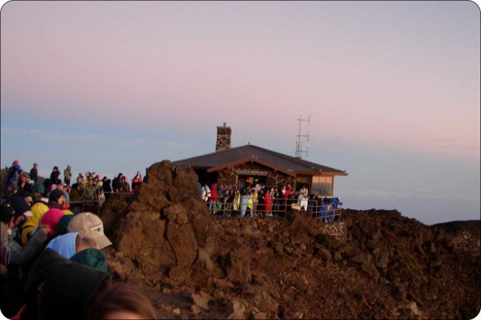 Sonnenaufgang Am Haleakala