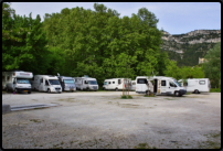 Camping-Car-Park in Fontaine-de-Vaucluse